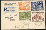 TURKS & CAICOS, UPU 1949 R-COVER FROM  ISLAND TO SWEDEN - Turks & Caicos
