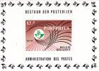 1967  Exposition «Postphila»  COB Bloc 44  ** - Blocks & Sheetlets 1962-....