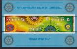 ANT NEERL  75è Ann Rotary International  ** MNH - Curaçao, Nederlandse Antillen, Aruba