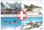 Avions De Chasse Suisses: TIGER F-5 E HUNTER, Mirage III S Venom Dh 112; Photo Aviation Militaire; TB - 1946-....: Moderne
