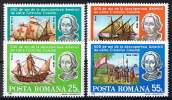 Rumänien 1992 , Michel #  4824 - 4827 ** - Christopher Columbus