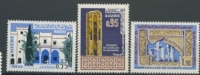 ALGERIA, ALGERIE 1967 MI 471-473 MAGHREBINIAN ART, KUNST IN ALGERIA. MNH, POSTFRIS, NEUF**. - Algerije (1962-...)