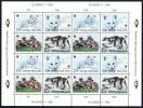 FINLAND/Finnland 1993 WWF, Endangered Arctic Fox  Sheetlet** - Finnland