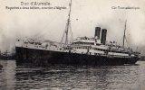 Compagnie Transatlantique - Duc D' Aumale - Paquebot à Deux Hélices Courrier D' Algérie Alger Tunis Marseille Bizerte - Piroscafi