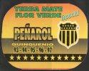 """1 URUGUAY-Calendarios De Bolsillo """"EL QUINQUEÑO DE PEÑAROL"""" Yerba Mate Flor Verde REBAJADA !!!!! - Calendriers"""