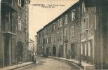 CPA 30 BESSEGES Rue Victor Hugo Portail De Fer - Bessèges
