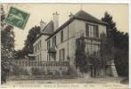 Carte Postale Ancienne Vaux Sur Seine - Château De Beauregard. Façade - Frankreich