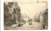 Reims - La Rue De Vesle (vue De La Passerelle) - Reims