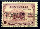 Australia GV 1934 MacArthur Merino Sheep 9d Value, Used - 1913-36 George V : Other Issues