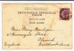 LEVANT BRITANNIQUE - 1901 - CARTE POSTALE De CONSTANTINOPLE BUREAU ANGLAIS - British Levant