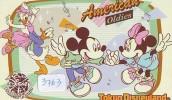 Télécarte Japon  (3763)  DISNEY Phonecard Japan * Telefonkarte Japan * 110-210852 * AMERICAN OLDIES - Disney
