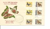 Papillons ( FDC Du Vietnam Du Sud De 1968 à Voir) - Papillons