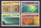 Tristan Da Cunha, Year 1986, Mi 397-400, Comet Of Halley, MNH ** - Tristan Da Cunha
