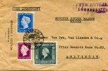 Nederlands-Indië Brief 1940 Met Stempel Deviezen Soerabaja - Niederländisch-Indien