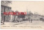 42 LOIRE SSN° ROANNE LE PASSAGE A NIVEAU DU FAUBOURG MULSANT ET LES POIDS PUBLICS TRAMWAY PICON - Roanne