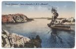 CROATIA - Sibenik / Sebenico, K.u.K. Seal Split, Spalato, Armor Clad S.M.S. MONARCH, 1917. - Kroatien