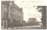 AK Bochum,  Partie An Der Bergschule, Marke Abgefallen, 1906 - Bochum