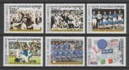 SERIE NEUVE DU CAMBODGE - FOOTBALL, COUPE DU MONDE 2002 N° Y&T 1884 A 1889 - Coupe Du Monde