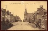 Cpa Du 22  Callac  La Chapelle Neuve Une Vue De La Place   NW9 - Callac