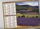 Almanach Du Facteur 2011 Vue De Sault Methamis Theme Lavande - Calendriers