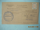 CARTE POSTALE  MAIRIE DE ST FLORENT 79    NEUVY BOUIN 79  MR GOICHON  FICHE DE CONTOLE - Marcofilie (Brieven)