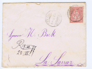 Switserland:  1877 Sitzende Helvetia, 10 C Neuchatel To La Larraz - Poststempel