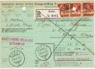 Switserland:  1930 Einzugs-Auftrag Registered Stabio ->  Wangs - Schweiz
