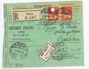 Switserland:  1928 Einzugs-Auftrag Registered Stabio -> Basel, Nicht Eingelöst - Zwitserland