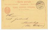 Switserland:  1893 Carte Postale From Danzas Basel -> Landsberg , 10 C - Postwaardestukken