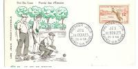 FILATELIA - TEMATICA SPORT - FRANCIA - GIOCO DELLE BOCCE - ANNO 1958 - JEU DE BOULES - Petanque