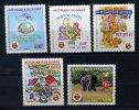 Rep. Guinée ** N° 947 à 951 - Protection De La Nature Et De L'environnement - Guinee (1958-...)