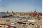 Stockholm Utsik Mot Gamla Staden Och Slussen 1960 - Suède