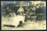 CPA. Carte / Photo.    LA GUERRE. Repas D'officiers Allemands Dans La Gare De Vise. - Guerre 1914-18