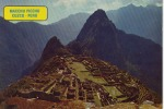 Cuzco Ruinas De Macchu Picchu 1975 - Pérou
