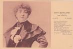 18495 Mme SARAH BERNHARDT . Dans L´aiglon 4ieme Acte  - Edmond Ed  Rostand; 1?8 Nozais Nantes