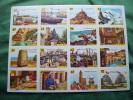 Lots De 6 Planches Cartonnees -  VOLUMETRIX 1965- ---les Departements 06-30-51-- Etc....- - Fiches Illustrées