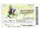 Disney Passeport Entreecard JAPON * TOKYO DISNEYLAND * STOCKHOLDERS  Passport (979) JAPAN * - Disney