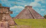 Mexique Mexico - Yucatan - El Castillo - Chichen-Itza - Stamp & Postmark - 2 Scans - Mexico