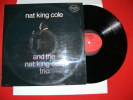 NAT KING COLE AND THE NAT KING COLE TRIO EDIT MFP - Jazz