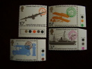 GB 1974 CENTENARY Of UNIVERSAL POSTAL UNION  Issue FOUR  Stamps To 10p. - 1952-.... (Elizabeth II)