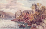 DARTMOUTH - THE CASTLE @ CHURCH. TUCK OILETTE - England