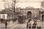 LORIENT LA PORTE ET LA PLACE DU MORBIHAN TRAMWAY 56 KARTEN BOST 1900 - Lorient