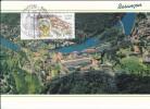 Carte-Maximum FRANCE N° Yvert 3387 (BESANCON) Obl Sp Ill 1er Jour (Ed Protet) - Maximum Cards