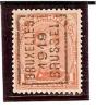 PREO ROULETTE N° 2431 - BRUXELLES 1919 BRUSSEL - Pos. A - Precancels