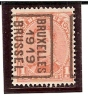 PREO ROULETTE N° 2431 - BRUXELLES 1919 BRUSSEL - Pos. B - Precancels