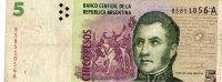 Argentina - Note 5 Pesos Circ - Argentina