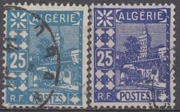 ALGERIE   N°78__OBL VOIR SCAN __2Nuances - Algeria (1962-...)