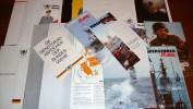Informationsschrift Bundeswehr Marine Uniformen, Erstorer Flotille, Schellboot .. - Police & Militaire