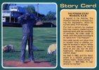 Statue Of The Possum Man, Famous Recluse, Wentworth NSW Unused,  Nucolorvue Card - Australie