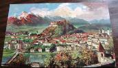 == Salzburg   Auf Künstler AK   Tucks Oilette  No. - Salzburg Stadt